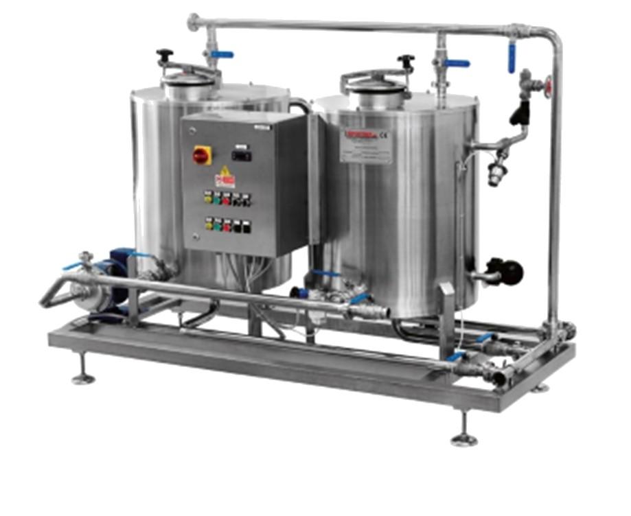 Cip a 2-3-3 cuves de 200-300-500-1000-2000 litres