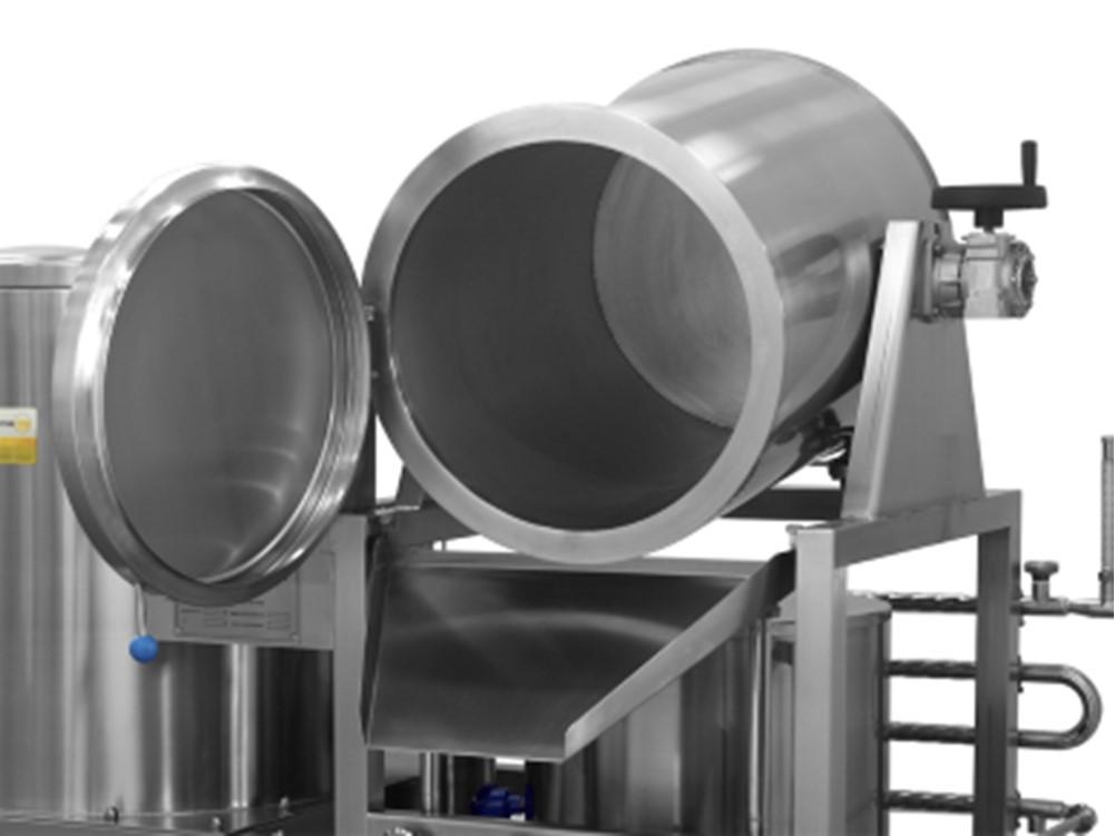 Cuve de filtration pivotante