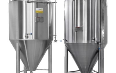 Cuves a biere de fermentation