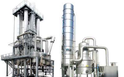 Evaporation concentration et desulfuration
